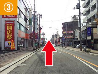 アクセス(西広島バイパス方面)3