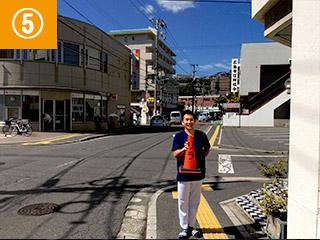アクセス(宮島街道から)5